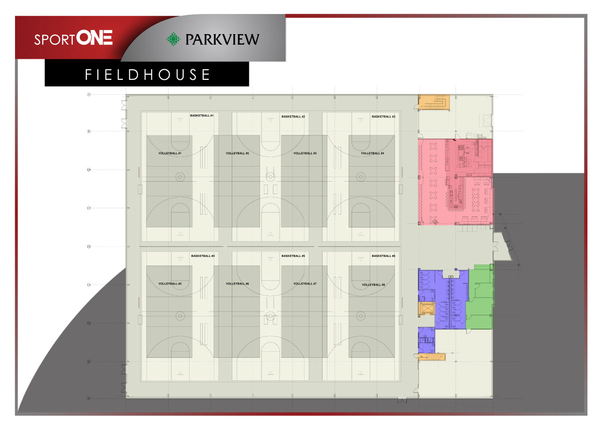 Click here to view the Fieldhouse floorplan